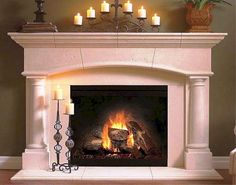 fireplace mantel ideas #fireplace #fireplaceideas   Fireplace ...