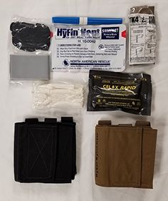 AFAK  Ankle First Aid Kit Stocked Tan * Click image for more details. This is an Amazon Affiliate links.