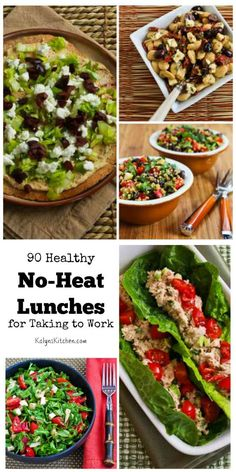 90 Healthy No-Heat Lunches for Taking to Work (Many are Low-Carb and Gluten-Free)