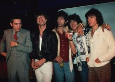 """aluacrescente: """"""""The Rolling Stones photographed by Lynn Goldsmith. """" """""""