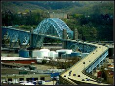 Pennsylvania ~ McKees Rocks | The McKees Rocks Bridge spans … | Flickr