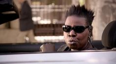 Saturday Night Live cast member Leslie Jones shows viewers how she uses the Allstate Drivewise app to find her car and track a tow truck. She is in control and says it feels like pure power.