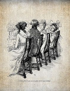 Jane Austen -illustration