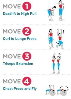 15-Minute Workout: LIFT MORE, LOSE MORE! A study published in Medicine  Science in Sports  Exercise showed that women who lifted a challenging weight for eight reps burned nearly twice as many calories as women who knocked out 15 reps with lighter dumbbells.