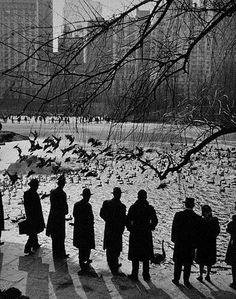 New York City - An American Sunday in New York, 1943 - by Anfreas Feininger