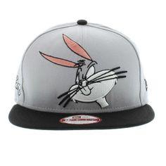 New Era Cap Bugs Bunny The Cabesa Punch 2 SNAPBACK - Gray   Black New Era 4ac4b35f6d71d