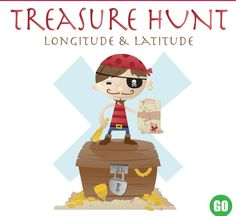 Children practice latitude and longitude in this educational game. Children are asked to find gold on the map by using latitude and longitude coordinates. A great activity to practice map skills.