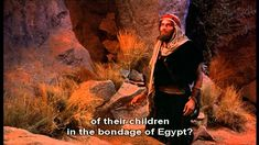 The Ten Commandments Moses And The Burning Bush.wmv - YouTube
