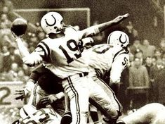 """Johnny Unitas, """"Hall of Fame"""" quarterback for the Baltimore Colts. Lithuanian sportsmen in the US"""