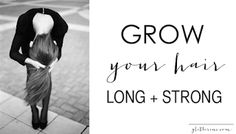Grow your Hair Long & Strong... http://howtomakeyourhairgrowlongerfast.blogspot.com/2014/02/how-to-make-your-hair-grow-faster-and.html