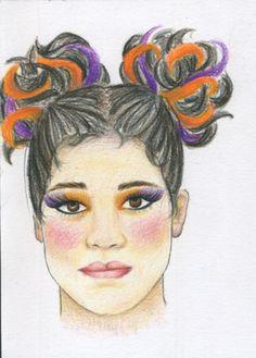 Sour Kangaroo hair idea for Frankie Seussical the Musical