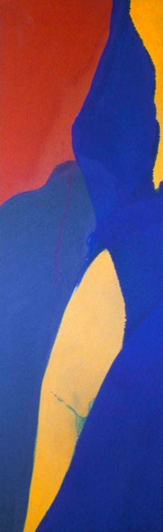 Helen Frankenthaler / Almond / 1968 /  Milwaukee Art Museum