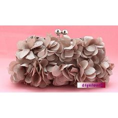 Best Latte Soft Wedding Evening Party Bridesmaid Clutch Bags Purses  SKU-1110500