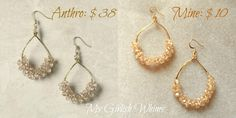 Anthropology Knock-Off Earring Tutorial | My Girlish Whims