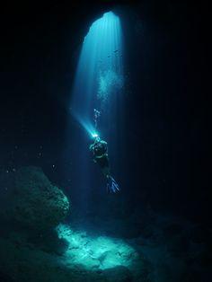 ロタ島でダイビング
