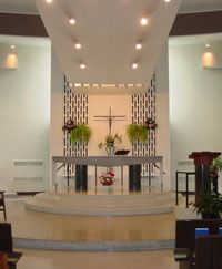 modern church altar design - Google Search