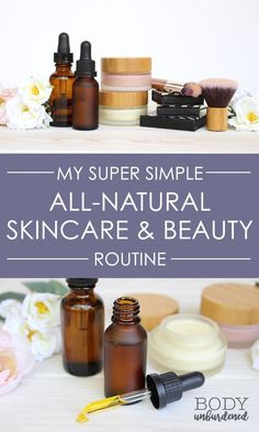 Looking to switch to an #all-natural #skincare and beauty routine? Check out my super-simple routine that has helped me kick acne to the curb and keep it away.