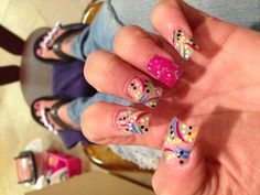 Cool designed nails 2012 very fun look