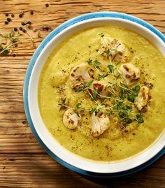 Zupa krem z rukoli i kalafiora #lidl #przepis #krem #zupa #kalafior #rukola