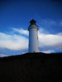 the Lighthouse by Fredrik Gjelstenli, via 500px
