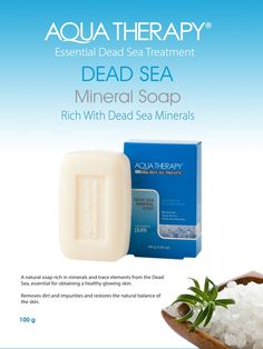 Aqua Therapy Dead Sea Soap | My Beauty Bunny #crueltyfree #skincare