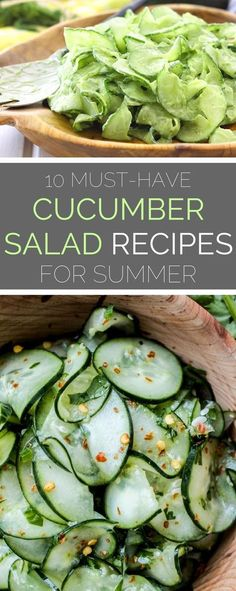 Don't let the summer potluck circuit derail your diet! We've lightened up a picnic staple with these light cucumber sala…-Don't let the summer potluck circuit derail your diet! We've lightened up a picnic staple with these light cucumber salad recipes—n Healthy Summer Recipes, Summer Salad Recipes, Healthy Salad Recipes, Summer Salads, New Recipes, Vegetarian Recipes, Cooking Recipes, Summer Dishes, Dishes Recipes