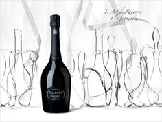 """The Art of welcoming people """"'a la Francaise"""" Laurent Perrier, Gifts For Wine Lovers, Premium Brands, Prosecco, Champagne, Water Bottle, Alcohol, Cocktails, Packaging"""