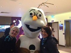 Our assessment team trying to convince Olaf to join our Overseas team (might be a bit too warm for him) - #Summer15iscoming