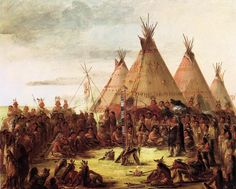 Tipi - Tipis painted by George Catlin who visited a number of tribes in the and recorded Native American daily life. Native American History, Native American Indians, Plains Indians, Indian Pictures, Indian Pics, Native Art, Sioux, Western Art, Famous Artists