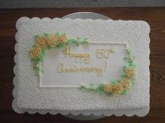 50 anniversary sheet cake - Google Search