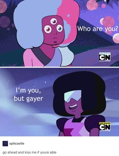 TBH I think early Garnet is better because there's blue and red in equal amounts. Now Garnet looks like Ruby is overpowering Sapphire with all of her red, but in good relationships (like Ruby and Sapphire) there's equal power.