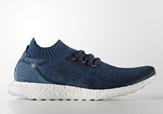 2e1828b19 Release info for the Parley for the Oceans x adidas Ultra Boost Uncaged in  a deep blue colorway (Style code