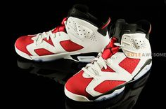 new style e8656 faef4 carmine air jordan 6 retro 08 570x379 Carmine Air Jordan 6 Retro Michael  Jordan Shoes,