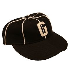 0e074bcffd3 Homestead Grays 1939 Ballcap NEGRO NATIONAL LEAGUE Led by Josh Gibson  behind the plate and Buck