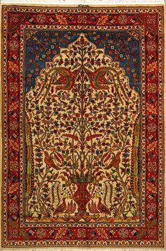 Handmade Bakhtiari Persian Rug :Woven: Authentic Persian Rug.