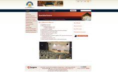 Diseño web para el Auditorio de Zaragoza. http://www.auditoriozaragoza.com