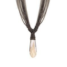 BeOne®Trendy Exaggerated Multi-layered Tassels Chain Zircon Water Drop Pendant Necklace Sweater Chain BeOne http://www.amazon.com/dp/B0152JJ6C6/ref=cm_sw_r_pi_dp_iM4-vb1M0CMK2