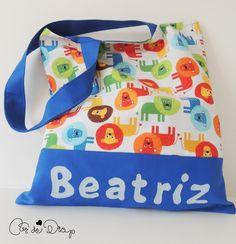 Cor de Drap: Tote bag personalizada con nombre