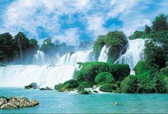 Fotobehang Komar - China Falls - FotobehangFactory.nl