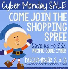 Cyber Sale and A Freebie!!
