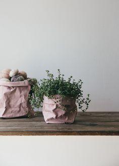Uashmama Washable Paper Bag Rose