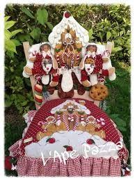 Imagen relacionada Gingerbread Christmas Decor, Christmas Chair, Gingerbread Ornaments, Felt Christmas, All Things Christmas, Christmas Time, Gingerbread Man, Crafts To Do, Christmas Crafts