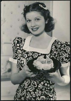 Young Lucille Ball 1930s