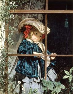No Walk Today Painting by Sophie Anderson | Oil Painting