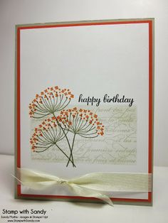 Stamp With Sandy: Summer Sillhouettes for Autumn, CTS55 & CCMC278