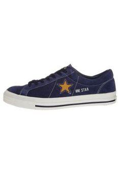 Converse ONE STAR 1974 OX matalavartiset tennarit sininen nahkaa - blue sneakers