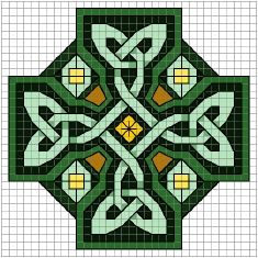 Celtic Art Cross Cross Stitch Patterns