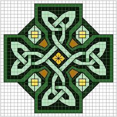 Celtic Art Cross Cross Stitch Patterns