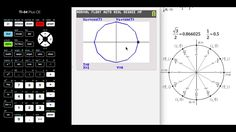 How to Put the Unit Circle on your TI-84 Calculator ❖ Trigonometry ❖ Pre...