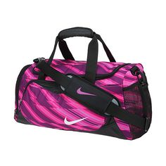 eb8e8609775 Nike YA Team Training Small Duffel Bag ( 30) ❤ liked on Polyvore featuring  bags